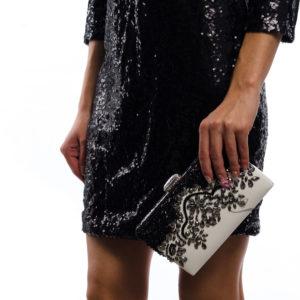 Луксозна вечерна чанта