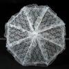 Дантелен чадър за сватбена фотосесия