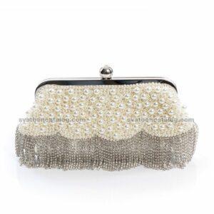 Абитуриентска чанта с перли
