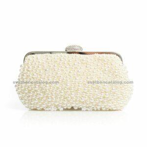 Булчинска чанта с перли