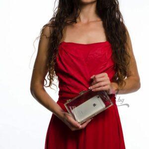 Прозрачна дамска чанта No Secret
