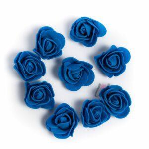 Сини рози за сватбена декорация