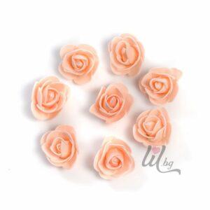 Розички за декорация в цвят праскова.