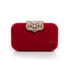 Червена чанта