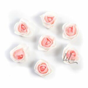 Розово-бели силиконови розички