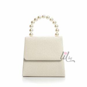 Бяла бизнес чанта