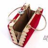 Червена официална чанта