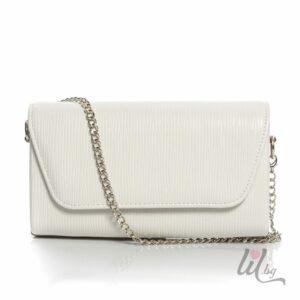 Малка бяла чанта