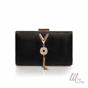 Черна вечерна чанта