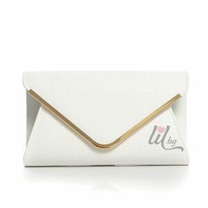 Бяла официална чанта