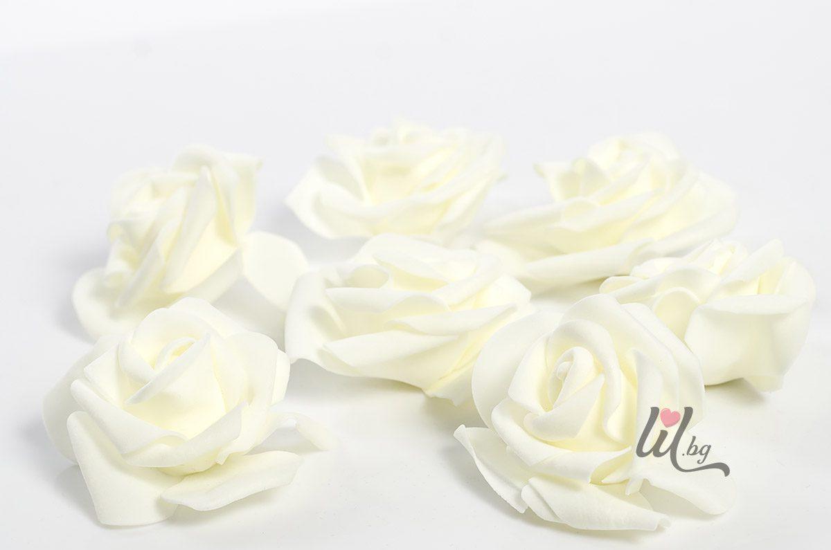 Големи рози