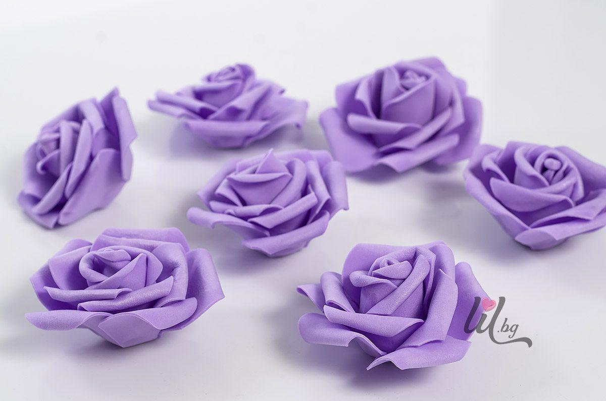 Големи лилави розички