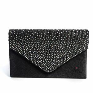 Черна чанта плик