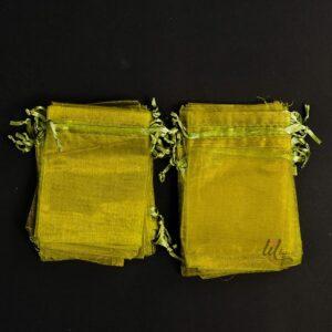 Маслинено зелени торбички