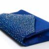 Синя бална чанта
