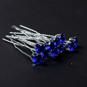 Сини фуркети с камъни