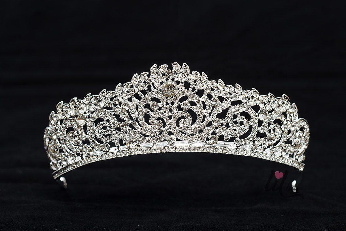 Кристална корона за коса